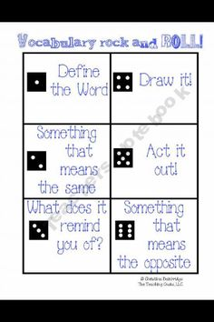 SMART BOARD ACTIVITY! Students come up one by one! Roll the dice and do whatever it says
