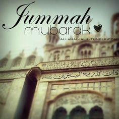 Happy Friday. May Allah (swt) reward you all. :)