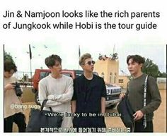 BTS JK SJ RM JH | THERE ARE SO MANY OF THESE RICH PARENT MEMES IM STARTING TO BELIEVE THEY ARE TRUE. AHAHAHHA