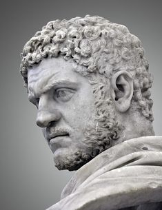 198 to 217 Caracalla. Preceded by his father, Septimius Severus, with whom he ruled jointly until the latter's death in Succeded by Macrinus. Ancient Rome, Ancient Art, Ancient History, Roman Sculpture, Sculpture Art, Sculptures, Roman History, Art History, Art Romain
