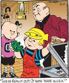 March 12, 1951: Dennis the Menace