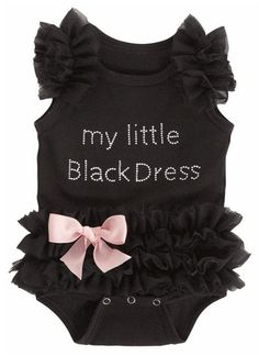 2016 Hot Selling One-piece Fashion Kids Baby Girls Black Dress Lace Bodysuit Romper Jumpsuit Cute So Cute Baby, Baby Kind, Cute Baby Girl Clothes, Baby Girl Stuff, Babies Clothes, Fashion Kids, Baby Girl Fashion, Newborn Fashion, Women's Fashion
