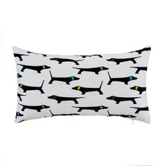 Found it at AllModern - Mongrel with Bone Velvet Lumbar Pillow