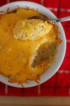 Cheesy Baked Quinoa    1 c. quinoa  2 c. chicken broth  4 oz. (1/2 block) cream cheese  1 & 1/2 c. grated sharp cheddar cheese  1/2 c. grated parmesan cheese  1-2 t. onion powder  salt & pepper to taste  any seasonings (i.e. italian seasoning, garlic, herbs, etc.), optional