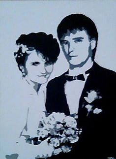 Stencil Art Graffiti PopArt  Wedding Picture MAKE KOKS