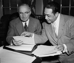 Duke Ellington and President Harry Truman