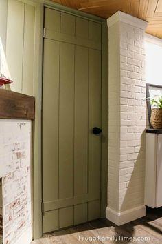 Door Makeover Diy Hollow Core 50 Ideas For 2019 Diy Interior Doors, Diy Interior Door Makeover, Cottage Doors Interior, Cabinet Door Makeover, Interior Design, Door Redo, Hollow Core Doors, Faux Fireplace, Wood Mantle