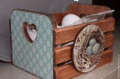 Купить Кухонный короб - короб для специй, короб для пасхальных яиц, подарок хозяйке, Пасха