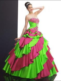 2012 Lovely ball gown sweetheart-neck floor-length quinceanera dresses
