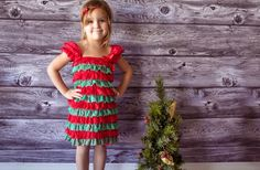 Ruffle Lace Christmas Dress 69% off at Groopdealz