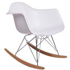 Beukenhout tuimelaars ondersteunen één van de drie levendige kleuren van ABS RAR SCHOMMELSTOEL, dit is een prachtige voorbeeld van moderne reproductie meubilair thema van een design, ontworpen door Charles Ormond Eames. Niet een meubelontwerper, maar meer een architect en kunstenaar, hij en zijn vrouw Bernice leverden belangrijke bijdragen aan de modernistische beweging in de architectuur en het meubeldesign in het midden van de 20e eeuw. De strakke lijnen, simplistisch design en oog voor…