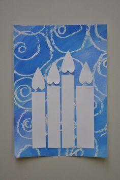 Nápady Na Vánoční Přáníčka - Yahoo Image Search Results Diy And Crafts, Christmas Crafts, Crafts For Kids, Christmas Decorations, Paper Crafts, Christmas Projects, Kids Christmas, Theme Noel, School Art Projects