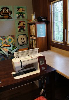 Sewing Room Redo by Cut To Pieces, via Flickr