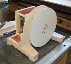 John Heisz's homemade disk sander