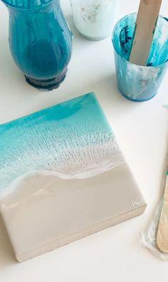 Resin Wall Art, Diy Resin Art, Resin Artwork, Diy Resin Crafts, Wood Resin, Diy Art, Decor Crafts, Resin Paintings, Resin Pour