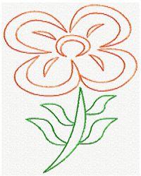 Flower B Sketch