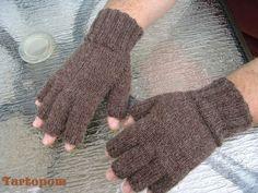 modèle tricot mitaines avec doigts
