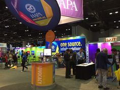The 2014 IAAPA Attractions Expo is underway and their booth is attracting a lot of  attendees! #iae14