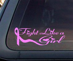 Fight Like a Girl Pink Ribbon
