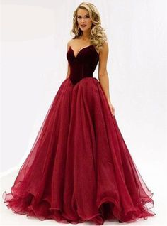 Find More Prom Dresses Information about Sweetheart Off The Shoulder A Line Tulle Burgundy Prom Dresses Vestido De Festa Longo,High Quality dress clothes for women,China dress samples Suppliers, Cheap vestido chiffon from L'ivresse on Aliexpress.com