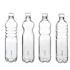 Glass Mineral Water Bottle