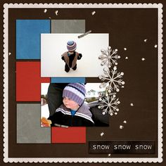 For this layout, I used the Winter Time template by Jellebelleke Designs and How's the Weather collab kit by Clever Monkey Graphics and Val. Winter Time, Layout Design, Layouts, My Photos, Winter, Page Layout