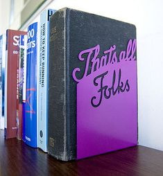 That's all folks book end