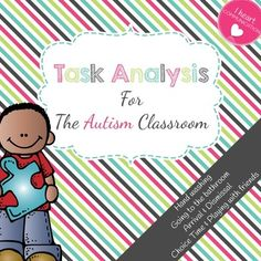 How To Write A Task Analysis  Education    Aba Autism