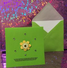 A personal favorite from my Etsy shop https://www.etsy.com/listing/265358385/yellow-flower-lime-green-beautiful-blank