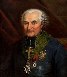 Marc Marie, Marquis de Bombelles (1744 - 1822), Evêque d'Amiens. (Ordres réunis de Saint Lazare et du Mont Carmel)
