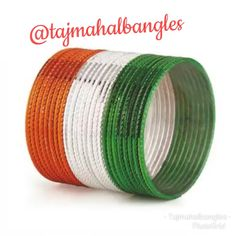 Now buy n explore an exclusive collection of Tiranga Bangles from Tajmahal Bangles in retail as well as wholesale.. #tricolor #tiranga #peace #saffron #saffron #white #green #bangleslove #trendybangles #metalbangles #tricolorbangles #bulkorderaccepted #girlishbangles #wholesalemarket #sadarbazar #occasionalbangles Independence Day Special, Western Look, Ethnic Looks, Wave Pattern, Golden Color, Exclusive Collection, Desi, Bangles, Retail
