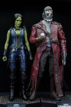 REVIEW: Hot Toys 1:6 Guardians of the Galaxy Star-Lord and Gamora ...