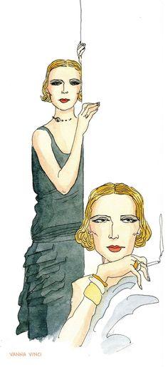Tamara de Lempicka sarebbe felicissima di questa graphic novel di Vanna Vinci: era una vera star dalla vita spericolata, ora è una popstar, un'affascinante trasgressiva…