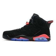 super cute 82f63 c7a15 low cost air jordan 6 infrared 23 black red retro cheap jordans from china  on sale