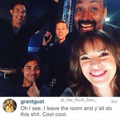 - Grant's reply though! - #TheFlashCast