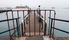 Pregopontocom Tudo: Maré baixa suspende travessia Mar Grande-Salvador
