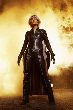Haley Berry as Storm, ready to set it off!