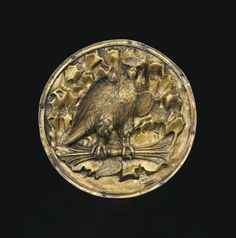 AN EAST GREEK GILT SILVER ROUNDEL  HELLENISTIC PERIOD, CIRCA 3RD-1ST CENTURY B.C.