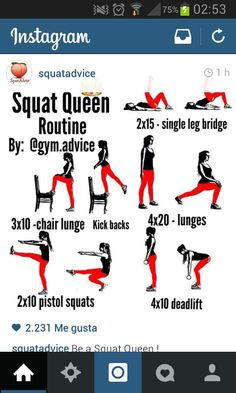 Great Squat Routine.