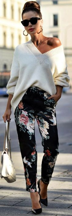 Oversized Sweater -Fall Outfit Idea from Short Stories & Skirts #fashionfall2017