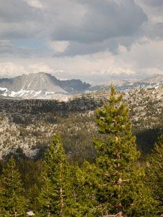 lyell Canyon-Vogelsang loop Yosemite 20 miles