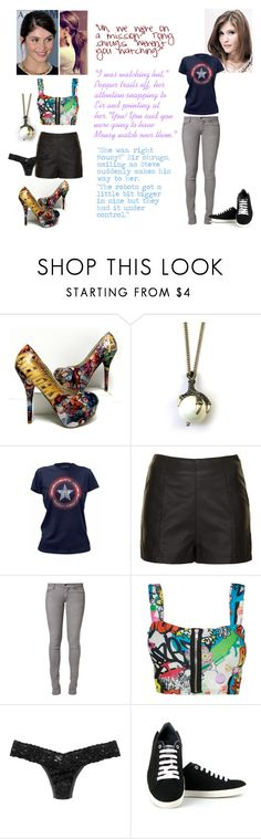 """A Second Chance- Chapter Twenty-Three"" by crossxover ❤ liked on Polyvore featuring Topshop, Cheap Monday, Hanky Panky, Vegetarian Shoes, harrypotter, Avengers, fanfiction, theavengers and crossover"