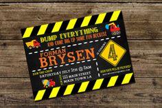 Construction Birthday Party Invitation  by InvitasticInvites, $10.00