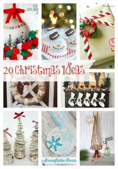 20 AMAZING Christmas Ideas