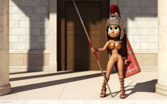 Vivi roman legionary girl in bikini