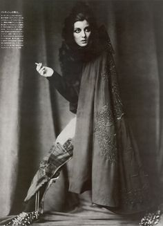 Irina Lazareanu photographed by Paolo Roversi - Vogue Nippon: October 2006 - Rock'n Roll Nomad