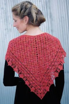 Sigrid Arnott by  Sigrid Arnott I love this elegant lace crochet shawl.