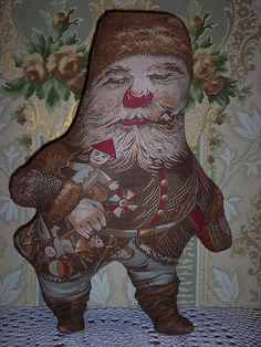 Love this antique santa - I have one but he is not in near as good condition as this one.