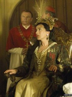 Maria Doyle Kennedy/ Queen Catherine of Aragon The Tudors