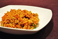 Küchenzaubereien: Scharfer Curryreis aus dem Wok